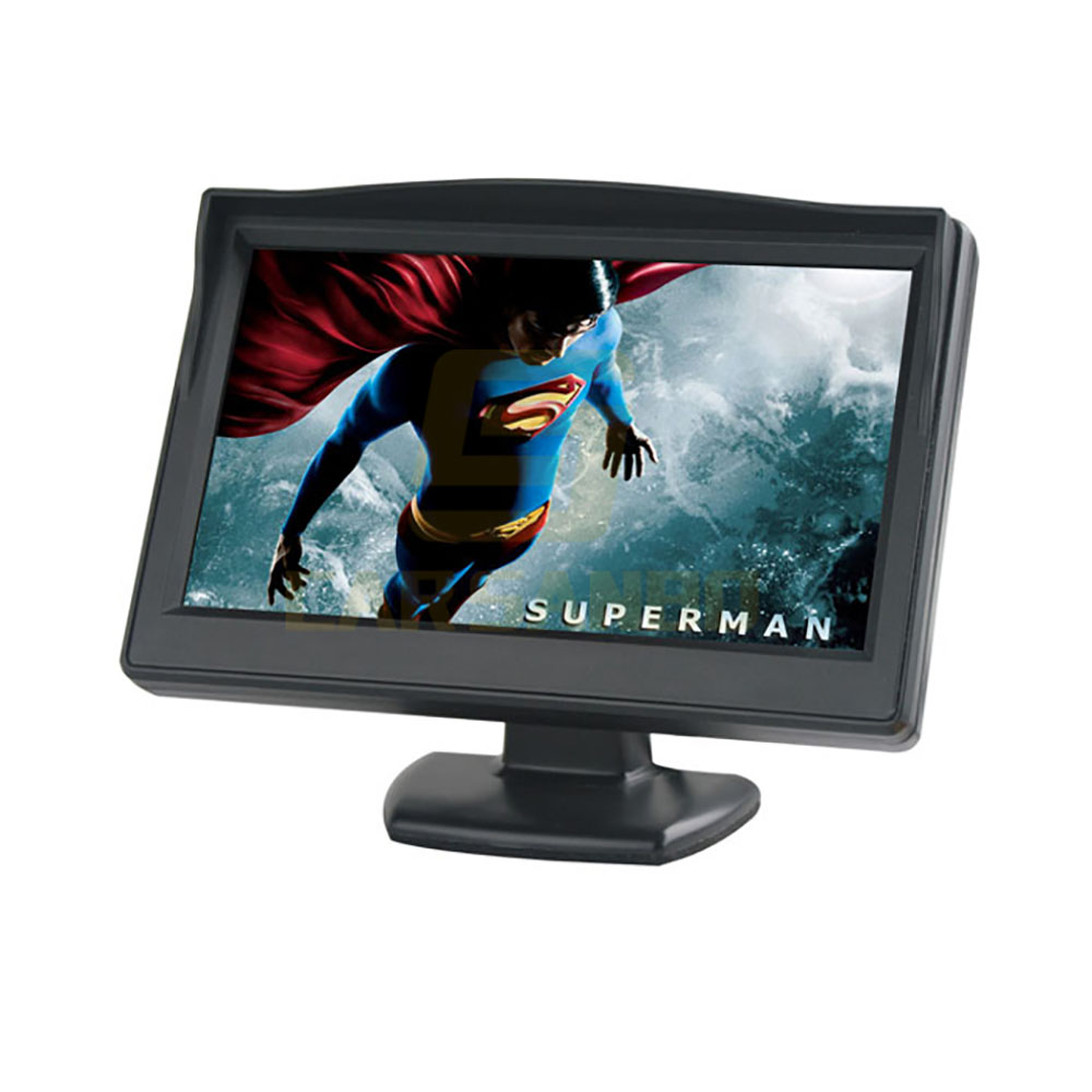5 inch stand alone monitor with 2 video input